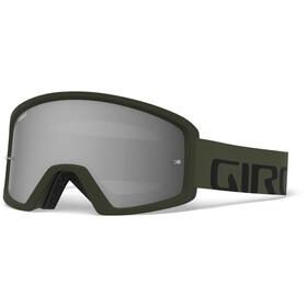 Giro Tazz MTB Goggles black/olive, smoke/clear